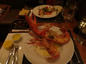 Sucks for the Lobster, but it was goooood for the Anniversary couple.